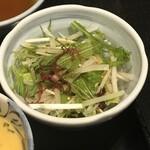 おいしい寿司と活魚料理 魚の飯 - サラダ
