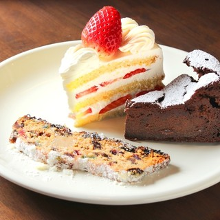 東京、フランスで学んだ本格の味が楽しめるデザート