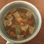 cafe8's - 具沢山スープ ヌルい