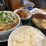 壱番隊 - 日替りランチ(肉とうふ)850円