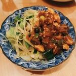 養正軒 - 焼きビーフンと麻婆豆腐をセルフフュージョン