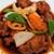朝天門 - 料理写真:黒酢鶏肉定食