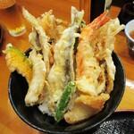 122366188 - 「海鮮天丼」(半身の鮎、もあります。)