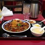 Hakumigen - 台湾風牛肉のマーラー丼(辛さアップ)