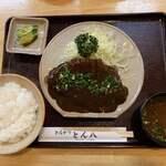 122366974 - 【2019.11.15】味噌とんかつ定食1550円