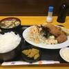 神戸一 - 料理写真:豪華な「カキフライ定食」が、ご飯大盛りで750円です!(2019.12.25)