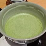 茶寮TSURU - [ドリンク] お抹茶 アップ♪w