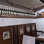 Sherry club - 店内な風景