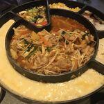 韓国料理×チーズ ソウルラブ - スープチーズダッカルビ