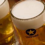 つばめグリル - ビール