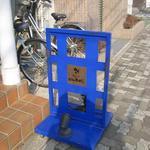 ヴァンローゼ - トレードマークの『青いドア』