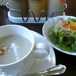 Kozyskitchen - ランチのサラダとスープ