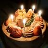 キンセイドウ - 料理写真:チョコクリスマスケーキ ロウソク付き!