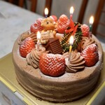 キンセイドウ - 栃木のケーキ屋さんなので、苺がフレッシュ!