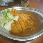 洋食ながおか - カツカレーライス  1.100円