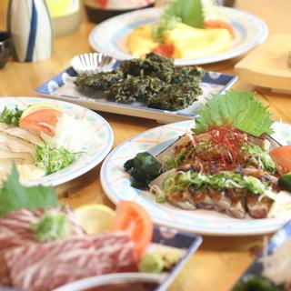 旬食材と職人の技で魅了する逸品料理!