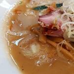 自家製麺 公園前 - 濃厚魚介ラーメン