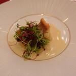 名古屋マリオットアソシアホテル - 鱸のポワレ 白菜のピュレ添え柚子風味