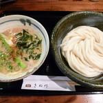 饂飩とお酒 からほり きぬ川 - 春のつけ麺