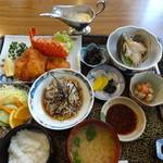 レストラン わか菜 - わか菜和定食膳(これにデザート・珈琲が付く)