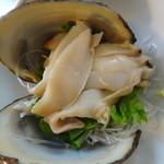レストラン わか菜 - 活北寄貝刺身