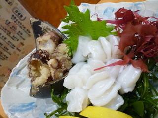 創味魚菜 岩手川 - 下津井産たこの刺身