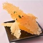 アル マンドリーノ - チーズせんべい