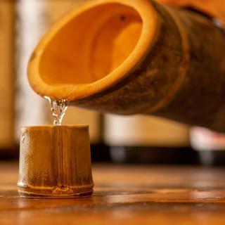 香りが違う♪雑誌で話題、名物【お茶ハイ】&豊富な日本酒