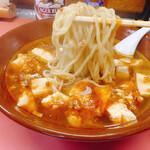 栄光軒 - マーボー麺 700円