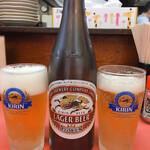 栄光軒 - 瓶ビール 500円