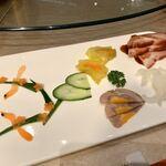 Kammeihou - 四種冷菜盛り合わせ