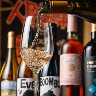 【昼飲みも大歓迎♪】ソムリエ厳選のワインがお得‼️
