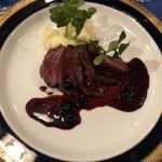 レストラン ストックホルム - これがトナカイの肉です