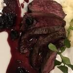 レストラン ストックホルム - トナカイ肉アップ