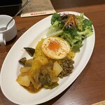 バルサバルサ - 煮込み野菜とパエリアライス