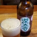 一休庵 - ドリンク写真:深大寺ビール