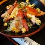 松葉鮨 - 特製ばらちらしアップ