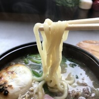 ちから-うどんは、適度な腰のある美味しい麺です(2019.12.26)