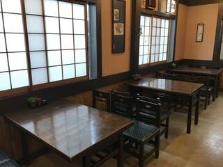 ちから - テーブル席(2019.12.26)