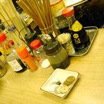 1224516 - 「立呑の店 くれは 中島酒店」カウンター
