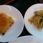 和唐 - 和唐 @中板橋 大根餅の甘酢あんかけと搾菜