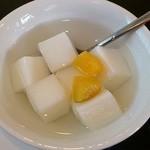 和唐 - 和唐 @中板橋 オーソドックスな固めの杏仁豆腐