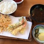 天ぷら 佐久間 - 最初の提供品