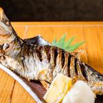 魚真 - にしん塩焼