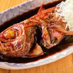 魚真 - 金目鯛煮付