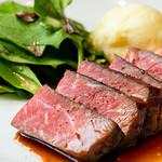 クラフトロック ブリューパブ&ライブ - 短角牛サーロインステーキ