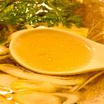 喜よし - スープが黄金色