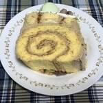 122408632 - コーヒーバタークリームとしっかりしたスポンジケーキが食べ応え抜群!