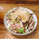 麺壱 吉兆 - そぼろご飯