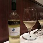 ヴィンチェロ - DONINI (Chardonnay です)